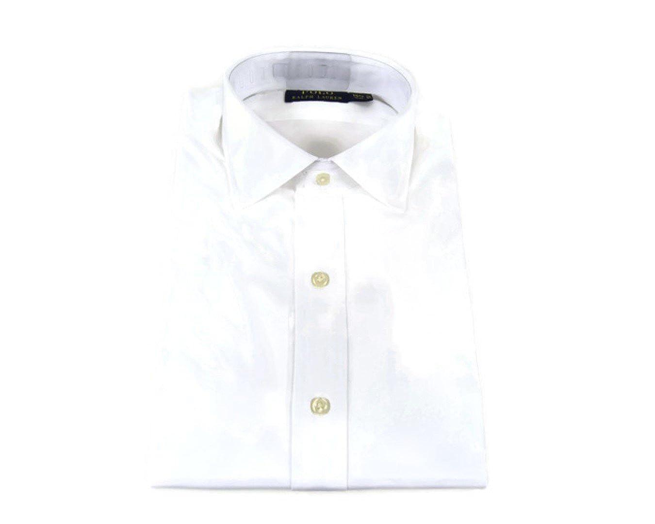 Polo Ralph Lauren Mens Oxford Dress Shirt White 712550513001 17