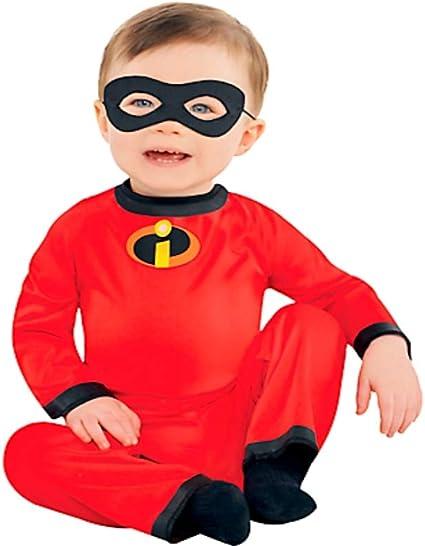 Boys Mr Incredible Costume Mrs Kids Girls Disney Book Week Superhero Jumpsuit