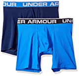 Under Armour Men's Mesh Series 6'' Boxerjock 2-Pack, Mediterranean (437)/Academy, XXX-Large