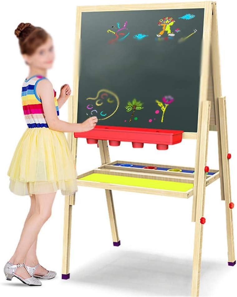 お絵かきボード 子供 子供および幼児148CMのための調節可能な両面の磁気ホワイトボードの絵画イーゼル