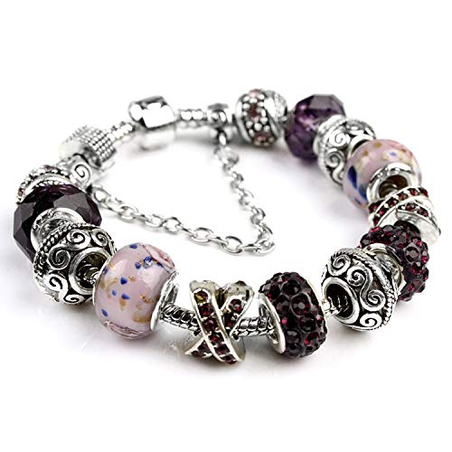 Boutique HOT Jewelry Crystal Bracelet Home European and American Women's Bracelet Jewelry DIY Jewelry,8