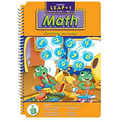 First Grade LeapPad Book: Counting on Leap: Toys & Games