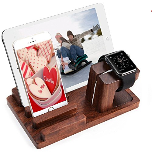 Docking Station Shrmia Rosewood Charger