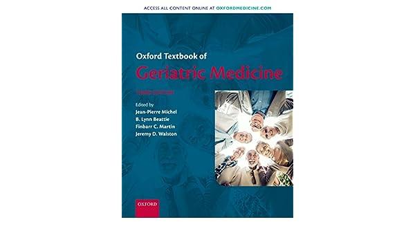 Oxford Textbook of Geriatric Medicine (English Edition ...