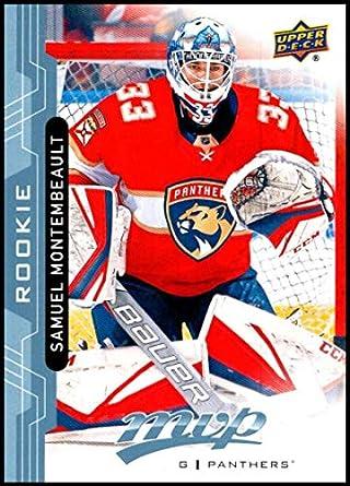 Samuel Montembeault Hockey Card 2018-19 Upper Deck #242 Samuel Montembeault