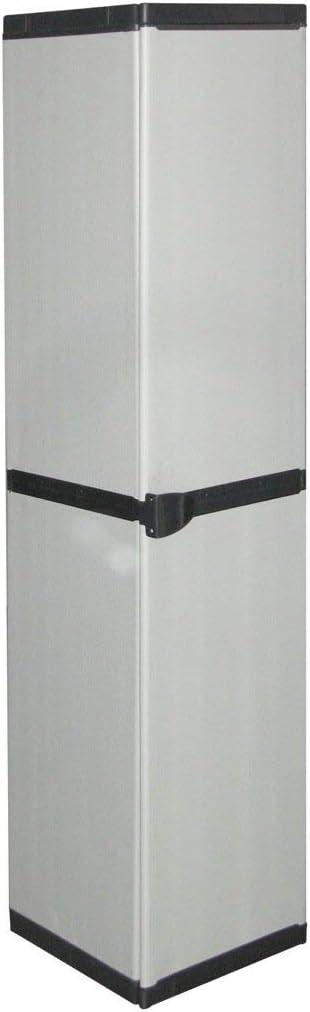 Mongardi 7813C04 - Mueble modular con anta, Gris, 34 x 39,5 x 168 cm