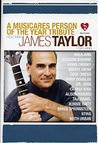 A MusiCares Person of the Year Tribute Honoring James Taylor (James Taylor Concert Dvd)