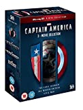 (US) Captain America: 3-Movie Collection (Blu-ray 3D + 2D) [Region Free] [UK Import]