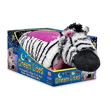 Pillow Pets Dream Lites Stuffed Animals - Zippity Zebra 11