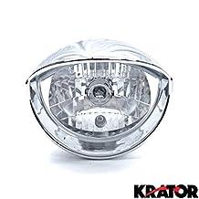 Motorcycle Custom Chrome Headlight Head Light For Kawasaki VN Vulcan Classic Nomad Drifter 1500