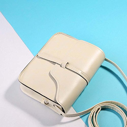 Little Leather Bag Handle Shoulder Paymenow Shoulder Bag Beige Body Messenger Bag Leisure Cross Crossbody 4qZ1T