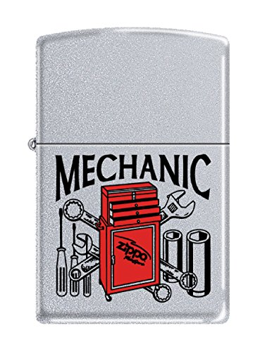 Personalized Message Engraved Customized Gift For Him For Her Mechanic Zippo Indoor Outdoor Windproof Lighter by Zippo