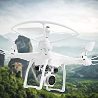 Hanbaili Upgraded S10 Drone with 720P 120°Wide-angle HD WIFI Camera,APP Control Real-time Transmission,3D Flips One Key Take off Landing,Easy Fly Steady for Beginners