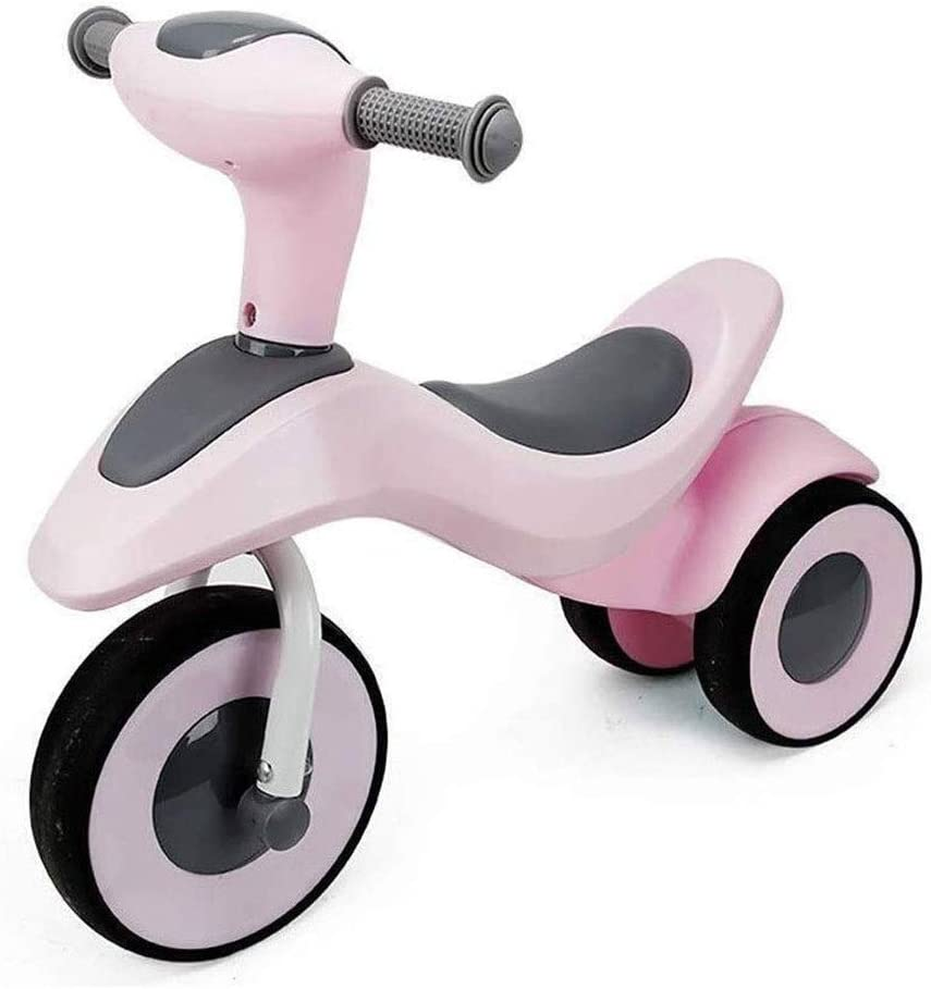 SMLZV Equilibrio Regalos for Bicicleta niños Juguetes de los niños El bebé Monta multifunción Juguete Slide - Navidad cumpleaños Regalo del Año Pink
