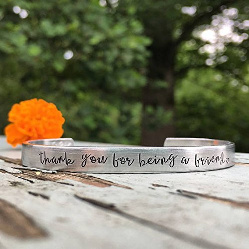 Betty White inspired gift | thank you for being a friend | Golden girls jewelry | Custom cuff bracelet | Friend gift | Best friend bracelet | Gift idea for her | Valentines day gift idea