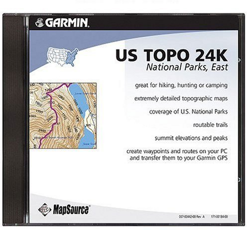 Garmin US TOPO 24K National Parks, East CD