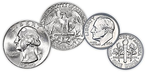 $1 Face Value 90% Silver Coins Will Grade Better Than Fine ()