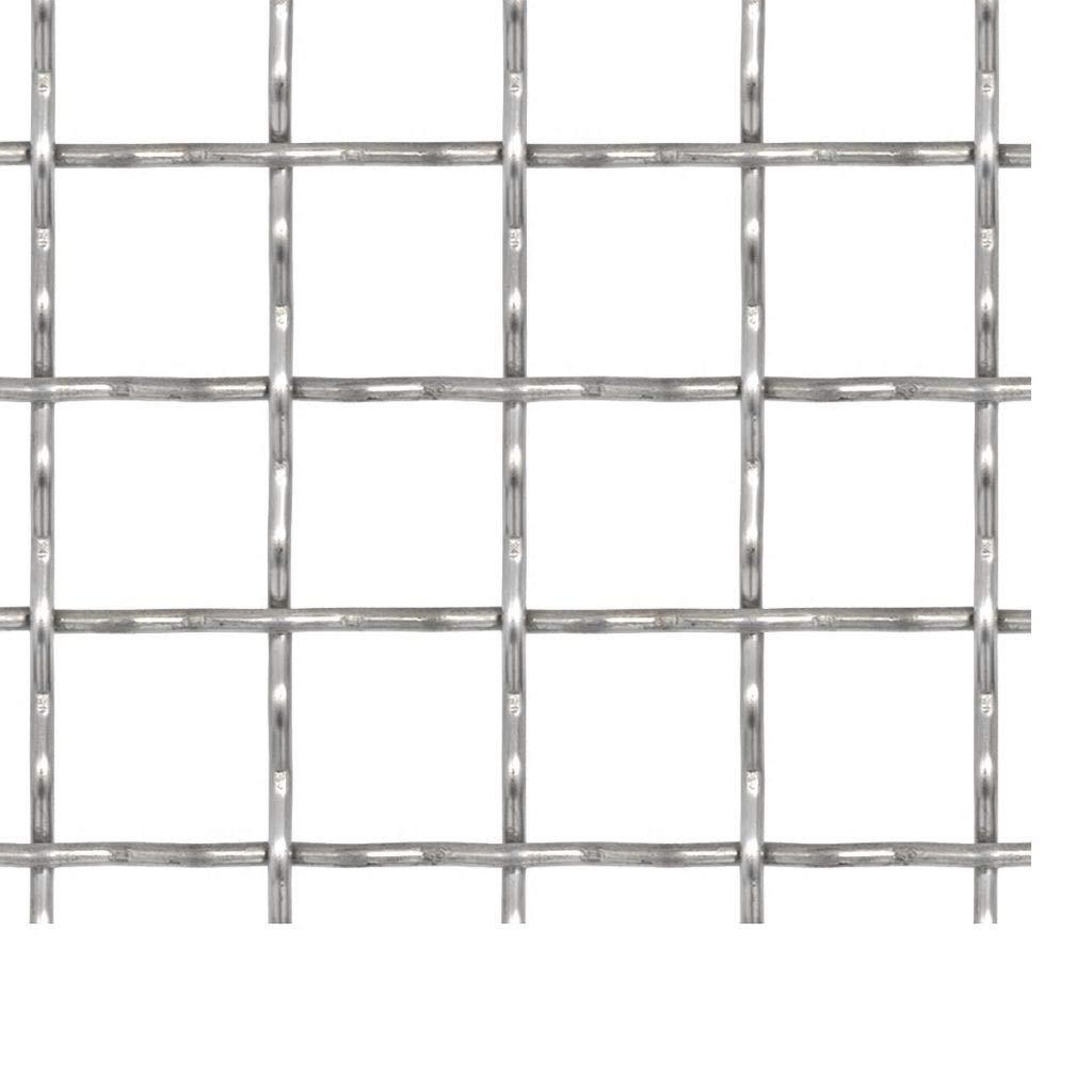 21 /× 21 mm Tidyard Wellengitter Schwei/ßgitter Gittermatte Edelstahl 100 /× 100 cm Maschenweite L /× B