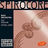 Thomastik-Infeld Spirocore strings have a flexible multi-wire spiral rope core. They offer a longer period of musical vibration and significantly reduce inertia. Spirocore strings are equally effective when playing Arco or pizzicato. They are highly ...