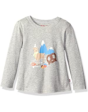 Girls' Long Sleeve Swing Tee