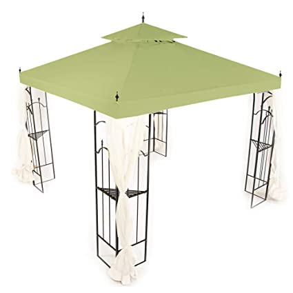 Peachy Replacement Canopy For Home Depot Arrow Gazebo Sage Download Free Architecture Designs Momecebritishbridgeorg