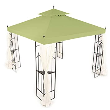 Magnificent Replacement Canopy For Home Depot Arrow Gazebo Sage Download Free Architecture Designs Momecebritishbridgeorg