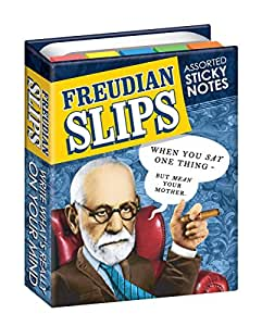 Freudian Slips Sticky Notes Booklet - By The Unemployed Philosophers Guild