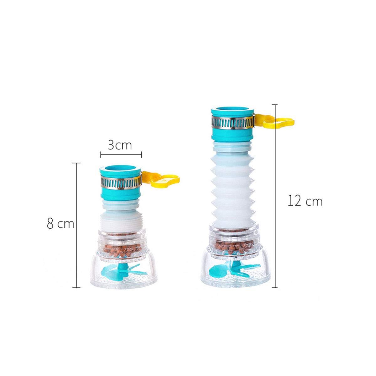 Blue Water Purifier Faucet Kitchen Household Anti Splash Tap Water Filter Cartridge Fits Standard Faucets