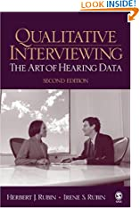 Qualitative Interviewing: The Art of Hearing Data (Paperback)