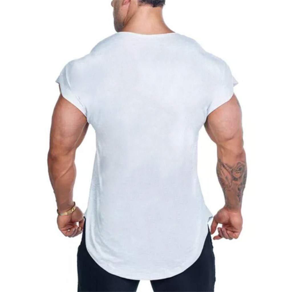 feiXIANG Maglietta per Uomo T-Shirt con Stampa Divertenti Estate Maglia a Maniche Corta Camicie Sportive Maglie a Manica Corta Magliette da Escursionismo Termica RegaloTopOriginal