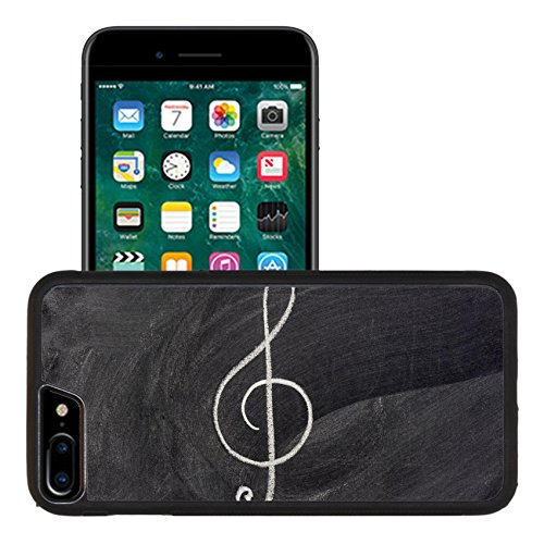 Liili Apple iPhone 7 plus iPhone 8 plus Aluminum Backplate Bumper Snap iphone7plus/8plus Case common musical notation sign treble clef or music symbol in general sketched Photo 3836405 - Music Notation Symbols