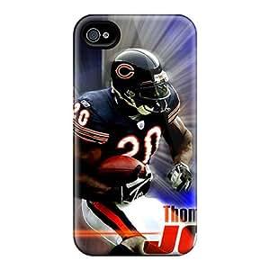 AlissaDubois Iphone 6 Shock Absorption Hard Phone Cases Unique Design Attractive Chicago Bears Pattern [baT9420VMlt]