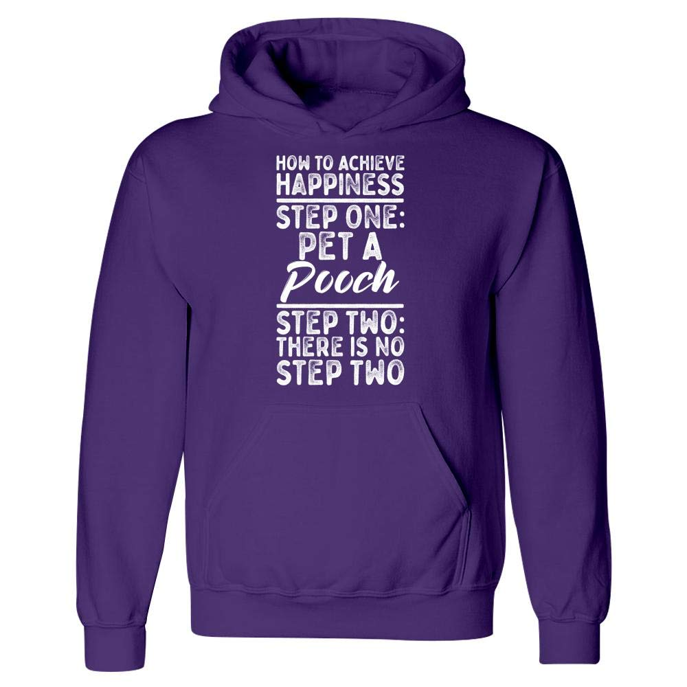 Pet A Pooch Step Two Step One Hoodie No Step Two