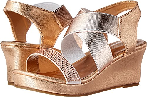 Next Shoes Kids (Kenneth Cole REACTION Girls' Reed Along Wedge, Rose, 13 M US Little Kid)