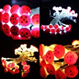 Lights & Lighting - 2m 20 Led Mushroom Fairy Wire String Light Battery Outdoor Garden Christmas Party Decor - Mushroom Light Decoration Lights Outdoor Decor Decorations Party - For - 1PCs
