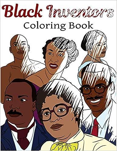 black inventors adult coloring book