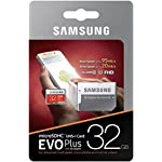 SAMSUNG 32GB EVO Plus MicroSDHC w/Adapter (2017 Model) 14 Samsung Original Models Available: MB-MC32GA, MB-MC64GA, MB-MC128GA, MB-MC256GA Compatible with a wide range of devices for both SD and micro SD (Includes Full-Size SD Adapter.) Excellent Performance for 4K UHD Video and broad compatibility across multiple applications