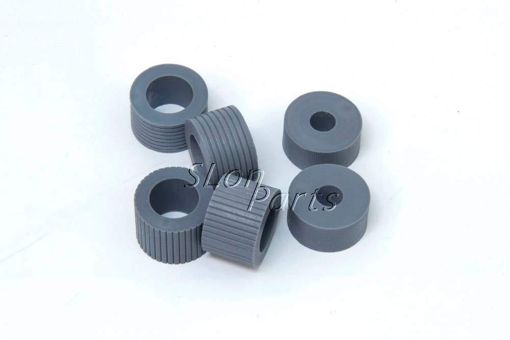 Printer Parts PA03338-K011 PA03576-K010 for Fujitsu Fi-5750C Fi-5650C Fi-6670 Fi-6670A Fi-6770 Fi-6770A Fi-6750S Brake Pickup Roller Tire by Yoton (Image #3)
