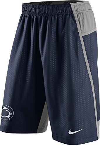 Nike Penn State Nittany Lions Men's Fly XL 3.0 Dri-FIT Training Shorts (3XL, Navy Blue)