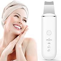 Skin Scrubber, Face Spatula, Professional Blackhead Remover Pore Cleaner, Scrubber Spatula Exfoliator with 4 Modes for…