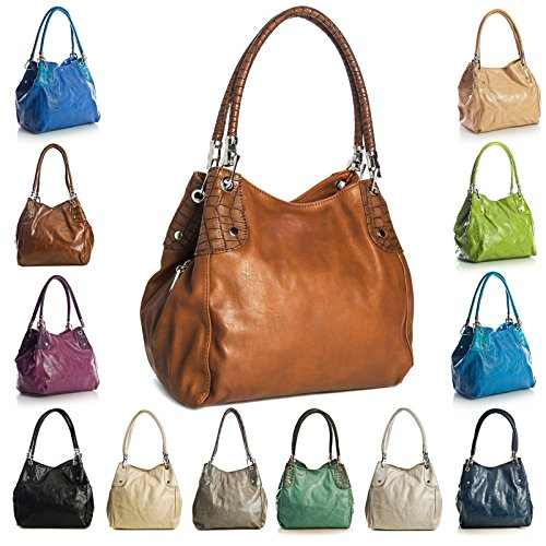 One Shop Handbag A Borsa Big Coral Mano Donna silvert 75Yw15Uqd