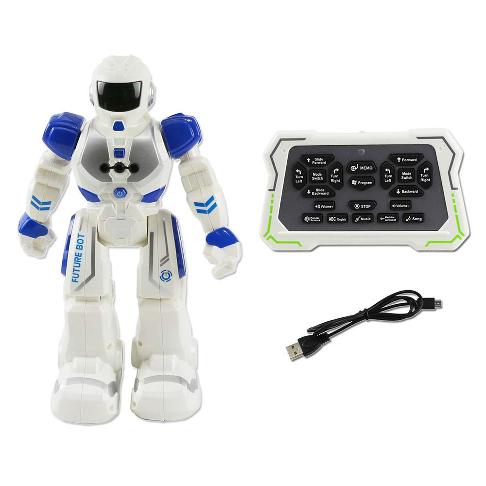 KYOKIM Remote Control Robot, Gesture Sensing Forward backward Turn Left right Slide Sing And Dance