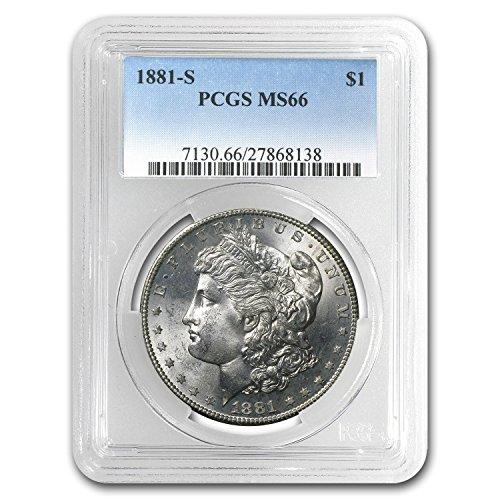 1881 S Morgan Dollar MS-66 PCGS $1 MS-66 PCGS