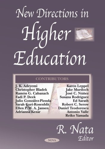 Download New Directions in Higher Education by R. Nata (2005-04-08) PDF
