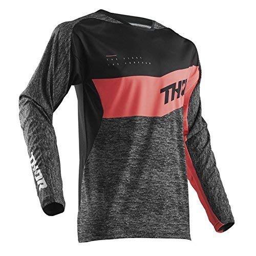 Thor Fuse HIGH Tide Motocross Jersey Spring 2018 - schwarz Coral