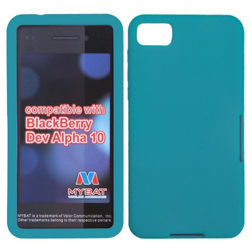 MYBAT Solid Skin Cover (Tropical Teal) for RIM BLACKBERRY ()