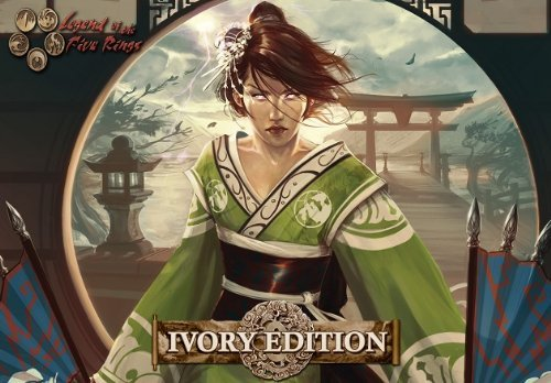 Legend of The Five Rings: L5R Ivory Edition Starter Deck Display (All 9 Clans) by Alderac Entertainment Group