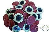 50 PC 2 Inch Roloc Discs 60 Grit R Type Sanding Abrasives