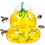 Wasp Trap Bee Traps Jar Hornet Trap Yellow Jacket Trap Attracts Hornets Yellow Jackets Bees Wasps Yellow Jackets Traps…