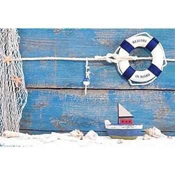 Amazon Com Aofoto 7x5ft Nautical Style Backdrop Mariner